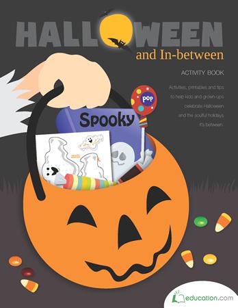 <h5>Halloween Arts and Crafts Workbook</h5><p>Printable Halloween Activities Workbook.</p>