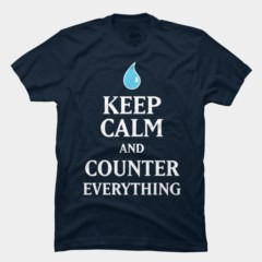 <h5>Keep Calm and Counter Everything T Shirt</h5><p>Cool Debate Club T Shirt. Just keep calm and counter everything.</p>