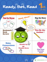 <h5>1st Grade Reading Workbook</h5><p>This 1st Grade Reading Workbook is printable. This workbook teaches the important elements of a story as well as its structure while building critical thinking skills.</p>