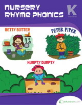 <h5>Kindergarten Nursery Rhymes Workbook</h5><p>This Kindergarten Nursery Rhymes Workbook is printable. It teaches alliteration as simple letter sounds, sing songs, and untangle tongue twisters.</p>