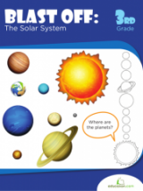 <h5>3rd Grade Solar System Workbook</h5><p>This 3rd Grade Solar System Workbook is printable. Your child can make his way across our solar system, planet by planet, learning interesting facts like any good astronaut, and making a 3-D mobile.</p>