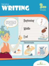 <h5>3rd Grade Writing Workbook</h5><p>This 3rd Grade Writing Workbook is printable. Prepare for a world of writing with this packet of exercises, tools and tips. Students learn a few ways to spice up writing, like sensory words, action verbs, supporting details, and point of view.</p>
