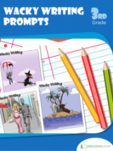 <h5>3rd Grade Writing Prompts Workbook</h5><p>This 3rd Grade Writing Prompts Workbook is printable. Colorful pictures can spark creativity in kids and help them strengthen descriptive writing.</p>
