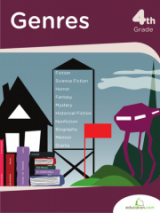 <h5>4th Grade Genres Workbook</h5><p>This 4th Grade Genres Workbook is printable. In this book, thumb through interesting quotes and the most popular genres. Your child has a chance to flex writing skills in a fun way as he analyzes what makes each unique.</p>