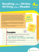 <h5>4th Grade Reading and Writing Workbook</h5><p>This 4th Grade Reading and Writing Workbook is printable. Students get familiar with every facet of literature in this workbook. It&#039;s packed with literary analysis activities.</p>