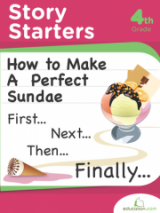 <h5>4th Grade Story Starters Workbook</h5><p>This 4th Grade Story Starters Workbook is printable. This book of creative writing prompts will nudge reluctant writers towards a love of language with imaginative activities that take them through space, under the sea and into distant lands.</p>