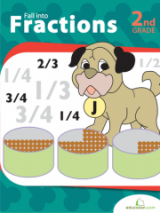 <h5>2nd Grade Fractions Workbook</h5><p>This 2nd Grade Fractions Workbook is printable. Fill-up on these entertaining fraction pages. This workbook contains a variety of visuals that will bring to life the equal parts that make a whole.</p>