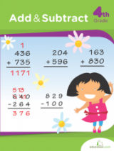 <h5>4th Grade Addition and Subtraction Workbook</h5><p>This 4th Grade Addition and Subtraction Workbook is printable. When your fourth grader is ready to move on to multiple-digit addition and subtraction, these riddles will make review fun and challenging.</p>