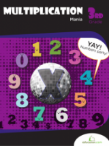 <h5>3rd Grade Multiplication Mania Workbook</h5><p>This 3rd Grade Multiplication Mania Workbook is printable. Set your child's foundation for the math covered in upper grades by helping her master the patterns, tables and shortcuts involved in multiplication. This book covers basic to intermediate exercises.</p>