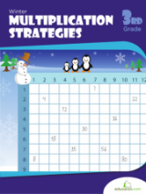 <h5>3rd Grade Multiplication Strategies Workbook</h5><p>This 3rd Grade Multiplication Strategies Workbook is printable. Mastering the multiplication tables is a big step for kids! Help your student nail down his times tables with this round-up of helpful strategies, cool shortcuts and practice pages.</p>