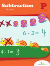 <h5>Preschool Subtraction Workbook</h5><p>This Preschool Subtraction Workbook is printable. With this workbook, your child can get a head start on subtraction by using simple pictures and familiar scenarios to symbolize the removal of numbers and objects.</p>