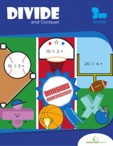 <h5>3rd Grade Division Workbook</h5><p>This 3rd Grade Division Workbook, Divide and Conquer, is printable. Division practice has never been more fun with these math worksheets for the sporting and game lover.</p>