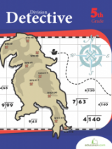 <h5>5th Grade Division Detective Workbook</h5><p>This 5th Grade Division Detective Workbook is printable. Don&#039;t be daunted by this division challenge. Dividing by 1 and 2 digit numbers will help your student discover buried treasure and conquer an important 5th grade math skill in the process.</p>