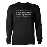 <h5>Math Teachers Have Problems Long Sleeve T Shirt</h5><p>Long sleeve t shirt. 100% cotton.</p>