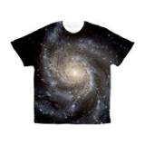 <h5>Galaxies T Shirt</h5><p>This Galaxies t shirt is an all over print t shirt.</p>