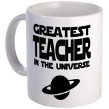 <h5>Greatest Teacher In Universe Coffee Mug</h5><p>Greatest Teacher In Universe Coffee Mug.</p>