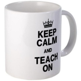 <h5>Keep Calm and Teach On Coffee Mug</h5><p>Keep Calm and Teach On Coffee Mug.</p>