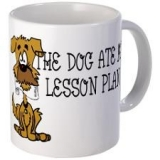 <h5>Dog Ate Lesson Plans Coffee Mug</h5><p>Dog Ate Lesson Plans Coffee Mug.</p>
