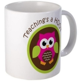 <h5>Teaching Is A Hoot Coffee Mug</h5><p>Teaching Is A Hoot Coffee Mug.</p>