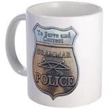 <h5>Grammar Police Coffee Mug</h5><p>Grammar Police Coffee Mug.</p>