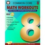 <h5>Grade 8 Common Core Math Workouts Workbook</h5><p>Grade 8 Common Core Math Workouts Workbook.</p>