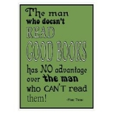 <h5>Read Books Poster</h5><p>Mark Twain wants you to read.</p>