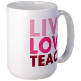 <h5>Live Love Teach Coffee Mug</h5><p>Live Love Teach Coffee Mug</p>
