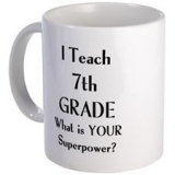 <h5>I Teach 7th Grade Coffee Mug</h5><p>I Teach 7th Grade Coffee Mug</p>
