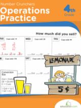 <h5>Operations Practice Workbook</h5><p>4th Grade Printable Math Workbook</p>