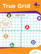 <h5>True Grid Workbook</h5><p>4th Grade Printable Math Workbook</p>