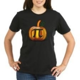 <h5>Pumpkin Pi Tee</h5><p>Women&#039;s Halloween T Shirt</p>