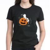 <h5>Snoopy Jack O&#039; Lantern Tee</h5><p>Women&#039;s Halloween T Shirt</p>