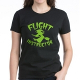 <h5>Flight instructor wickedy witch on a broomstick T Shirt</h5><p>Women&#039;s Halloween T Shirt</p>