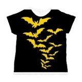 <h5>Yellow Bats All Over T Shirt</h5><p>Women&#039;s All Over Print T shirt.</p>