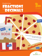 <h5>Fractions and Decimals Workbook</h5><p>3rd Grade Math Workbook Printable</p>