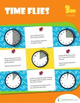 <h5>Time Flies Workbook</h5><p>3rd Grade Math Workbook Printable</p>