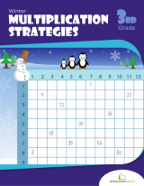 <h5>Multiplication Strategies Workbook</h5><p>3rd Grade Math Workbook Printable</p>