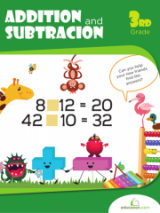 <h5>Addition and Subtraction Workbook</h5><p>3rd Grade Math Workbook Printable</p>