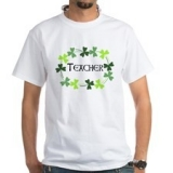<h5>Teacher Shamrocks T Shirt</h5>