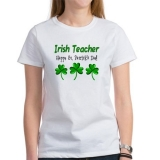 <h5>Irish Teacher St Patrick&#039;s Day T Shirt</h5>