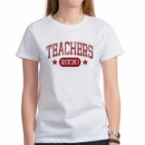 <h5>Teachers Rock Women&#039;s T Shirt</h5><p>This teacher&#039;s t shirt Rocks!</p>