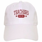 <h5>Teachers Rock Cap</h5><p>This teacher&#039;s cap Rocks!</p>