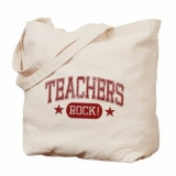 <h5>Teachers Rock Tote Bag</h5><p>This teacher&#039;s tote bag Rocks!</p>