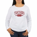 <h5>Teachers Rock Long Sleeve T Shirt</h5><p>This teacher&#039;s long sleeve t shirt Rocks!</p>