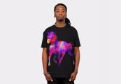 <h5>Geometric Horse T Shirt</h5><p>Geometric Horse T Shirt</p>