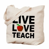 <h5>Live Love Teach Tote Bag</h5><p>Live Love Teach Tote Bag</p>