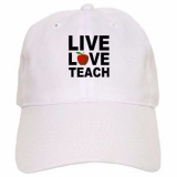 <h5>Live Love Teach Apple Hat</h5><p>Live Love Teach Apple Hat</p>