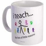 <h5>I Teach For Lots of Little Reasons Coffee Mug</h5><p>I Teach For Lots of Little Reasons Coffee Mug</p>
