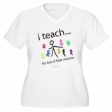 <h5>I Teach For Lots of Little Reasons V Neck Plus Size</h5><p>I Teach For Lots of Little Reasons V Neck Plus Size</p>