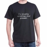 <h5>Silently Correcting Grammar T Shirt</h5><p>Silently Correcting Grammar T Shirt</p>